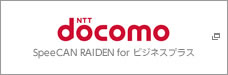 NTT docomo(SpeeCAN RAIDEN for ビジネスプラス)